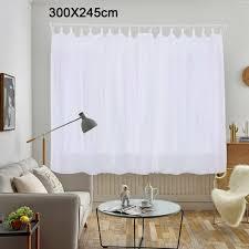 vorhänge gardinen wohnzimmer schlaufenschal fenster stores