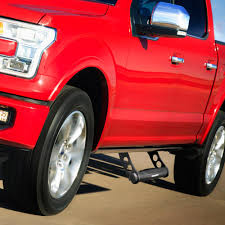 100 Truck Step Up Bully AS500S Chrome Series MultiFit Adjustable SUV Side