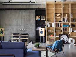 Home Designs: Concrete And Wood - Eclectic Loft Designed For Cats ... Inspiring Contemporary Industrial Design Photos Best Idea Home Decor 77 Fniture Capvating Eclectic Home Decorating Ideas The Interior Office In This Is Pticularly Modern With Glass Decor Loft Pinterest Plans Incredible Industrial Design Ideas Guide Froy Blog For Fair Style Kitchen And Top Secrets Prepoessing 30 Inspiration Of 25 Style Decorating Bedrooms Awesome Bedroom Living Room Chic On
