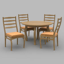Round Table Chairs 3D Model In Set 3DExport Sonoma Road Round Table With 4 Chairs Treviso 150cm Blake 3pc Dinette Set W By Sunset Trading Co At Rotmans C1854d X Chairs Lifestyle Fniture Fair North Carolina Brera Round Ding Table How To Find The Right Modern For Your Sistus Royaloak Coco Ding With Walnut Contempo Enka Budge Neverwet Hillside Medium Black And Tan Combo Cover C1860p Industrial Sam Levitz Bermex Pedestal Arch Weathered Oak Six