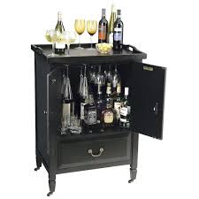 liquor storage cabinet furniture smart pull out storage solution
