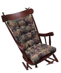 100 Greendale Jumbo Rocking Chair Cushion S For Non Slip Gripper Bottom Cabernet