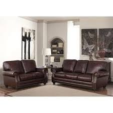 alessia leather sofas 2 piece set sofa and loveseat macys com