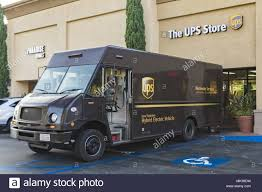100 Metropolitan Trucking Irvine California USA 19th Sep 2017 United Parcel Service UPS