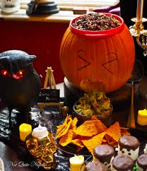 Puking Pumpkin Guacamole Recipe by How To Throw An Epic Halloween Party Not Quite Nigella