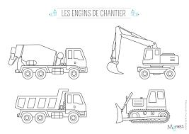 Coloriage Camion Fêtes Et Idées Dactivités Construction