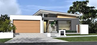 104 Skillian Roof Modern Single Storey Skillion Home Design With Raking Ceilings