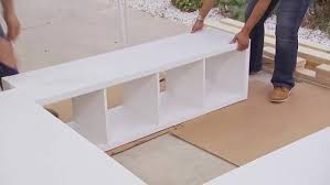Creative Ideas How to Build a Platform Bed with Storage i