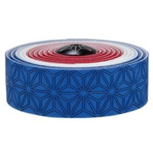Supacaz Super Sticky Kush Bar Tape - Blue/White/Red