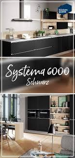 schwarze küche gesucht die elegante optik der systema 6000