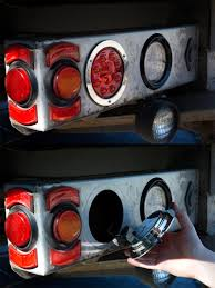 Round LED Truck And Trailer Lights - 4