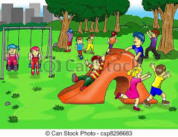 Playground Clipart Recess Time 9