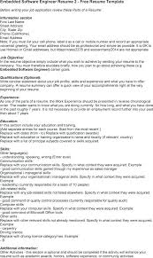 Software Developer Resume Summary Engineer Quality Assurance Template Example Samples