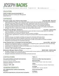 A Good Resume Title Examples Titles For Entry Level