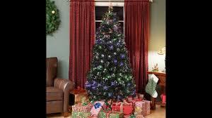 Fiber Optics Christmas Trees Artificial by Assembly For Pre Lit Fiber Optic 7 U0027 Green Artificial Christmas