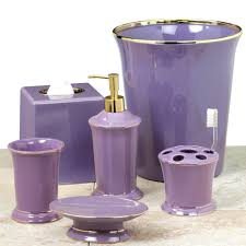 Walmart Purple Bathroom Sets by Accessories Likable Pink White Purple Damask Bathroom