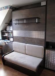 armoire lit canapé escamotable lit canapé escamotable pas cher maison image idée