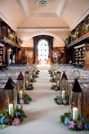 Calgary Wedding Decor Rentals Decorator Aisle Lanterns With Fresh Flowers Rustic