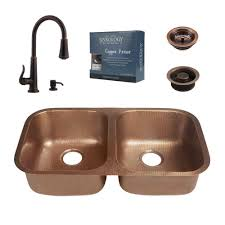Undermount Bar Sink Oil Rubbed Bronze by Copper Kitchen Sinks Kitchen The Home Depot