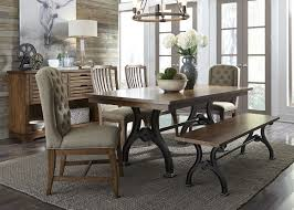 Arlington House Trestle Table With 2 Upholstered Host Chairs 2 Side ... Arlington End Table Ding Transitional Counter Height With Storage Cabinet By Fniture Of America At Rooms For Less Drop Leaf 2 Side Chairs Patio Ellington Single Pedestal 4 Intercon Black Java 18 Inch Gathering Slat Back Bar Stools Dinette Depot 6 Piece Trestle Set Bench Liberty Pilgrim City Rifes Home Store Northern Virginia Alexandria Fairfax