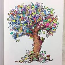 Doodle Invasion Coloring Book For Adults Rosanes 05
