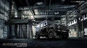 100 Land Rover Defender Truck URBAN TRUCK DEFENDER 110 Bespoke PUMA 110 Wagon