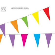 Image Is Loading Mix Colour Paper Garland 10M Party Carnival Decoration