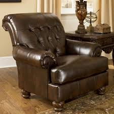Sams Leather Sofa Recliner by Fresco Durablend Antique Accent Chair By Signature Design By