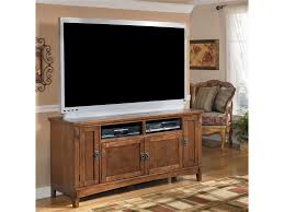 Ashley Furniture Desk And Hutch by Ashley Furniture Cross Island 60 Inch Oak Tv Stand With Mission