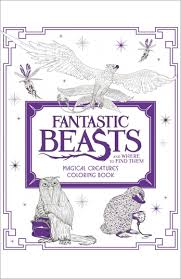 Fantastic Beasts And Where To Find Them Magical Creatures Colouring Book