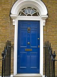 Navy Blue Front Door Paint Home Design Mannahatta inside Blue