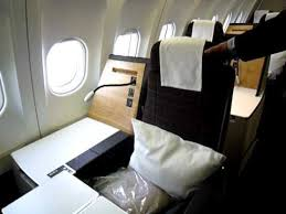 siege business air touring the swiss business class seat