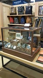 Watch Display Case For The Shinola Filson Collaboration Collection At Outdoor Retailer Winter Market