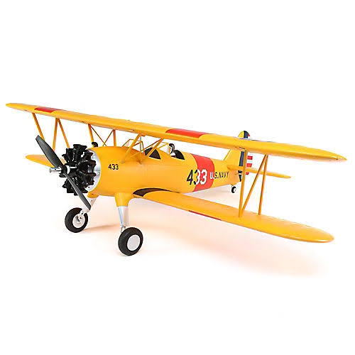 E-Flite EFL3350 Pt-17 RC Airplane - Yellow
