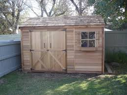 8x12 Storage Shed Kit by Cedarshed Rancher 8x12 Shed Kit On Sale