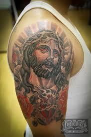 Amazing Lord Christ Tattoo
