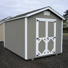 16x12 Shed Material List by Little Cottage 16 X 12 Ft Classic Wood Gable Panelized Storage