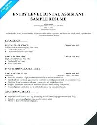 Dental Lab Technician Resume Template For Examples Images Sample Assistant Objective