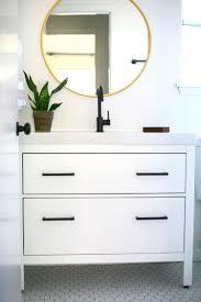 Ikea Hemnes Bathroom Mirror Cabinet by My Proudest Ikea Hack Classy Modern Vanity From An Ikea Favorite