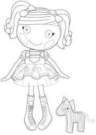 Free Lalaloopsy Coloring Pages To Print Out