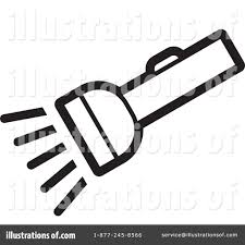 Royalty Free RF Flashlight Clipart Illustration 1229853 By Lal Perera
