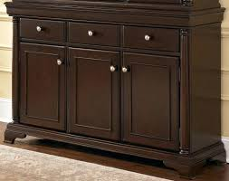 Used Buffet Table Dining Room Bar Wine Rack Cabinets Storage Hutch With Credenza And