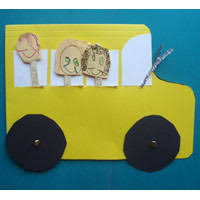 Bus Craft Objectives Children Will Learn About Transportation