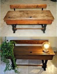 bureau d 馗olier ancien en bois 1 place bureau ancien ecolier bureau ecolier ancien 1 place occasion