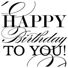 Happy birthday black and white happy birthday clipart free clip art 2