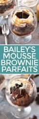 Pumpkin Mousse Brownie Trifle by Bailey U0027s Chocolate Mousse Brownie Parfaits U2013 Cake U0027n Knife