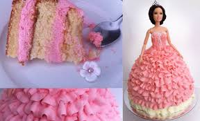 Cake Decoration Ideas With Gems by Birthday Cake Princess Doll Tutorial How To Cook That Ann Reardon