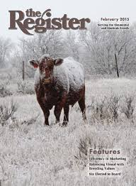 Northland Sheds Milbank Sd by The Register February 2015 By American Simmental Publication Inc