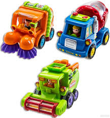 100 Used Sweeper Trucks For Sale Amazoncom WolVol Set Of 3 Push And Go Friction Powered Car Toys