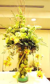 Gerbera Corner Pedestal Sink by Spring Flower Arrangements The Flower Godmother